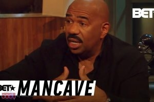 Gender Roles in Society: Steve Harvey Shares His Thoughts | BET's Mancave